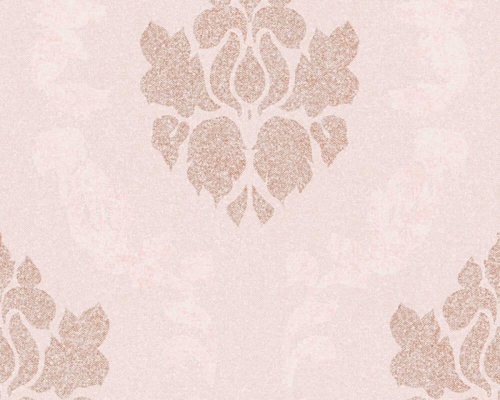 A.S. Création Tapete Barock, Creme, Kupfer, Metallics, Rosa 375525
