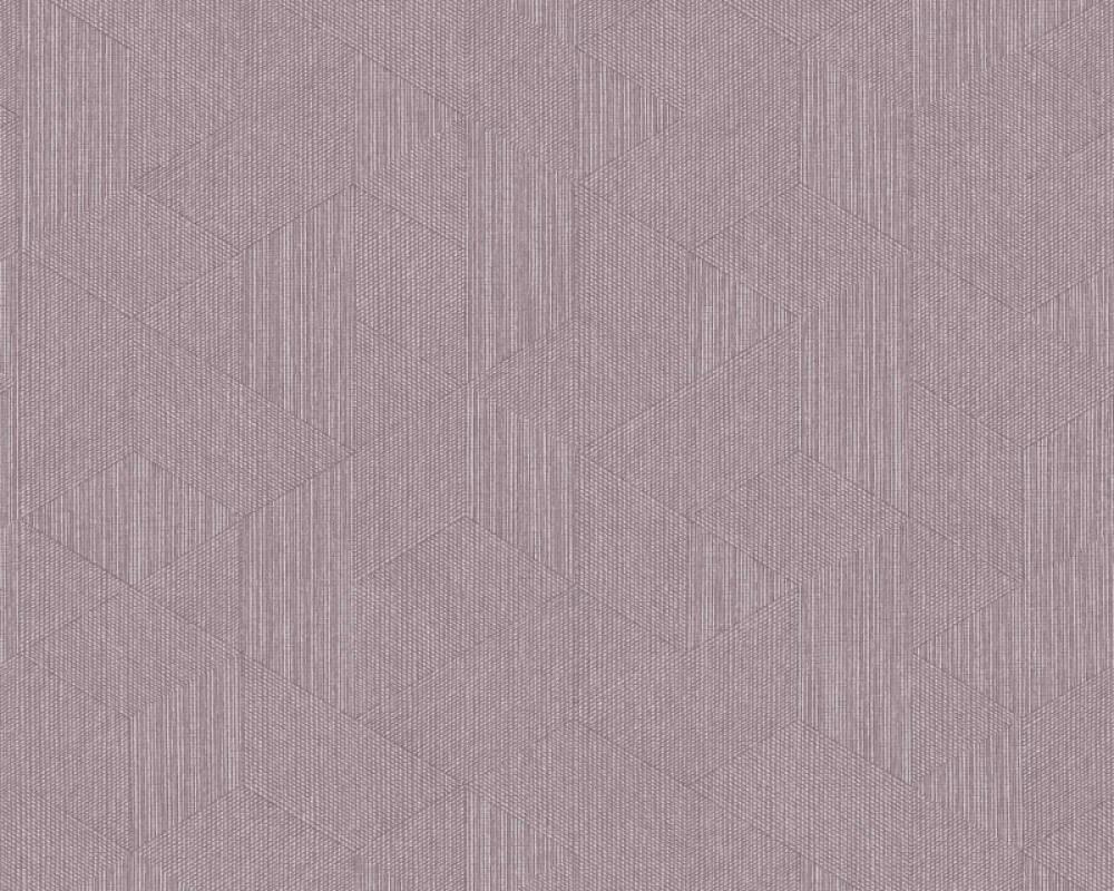 Architects Paper Tapete Grafik, Violett, Weiß 375616