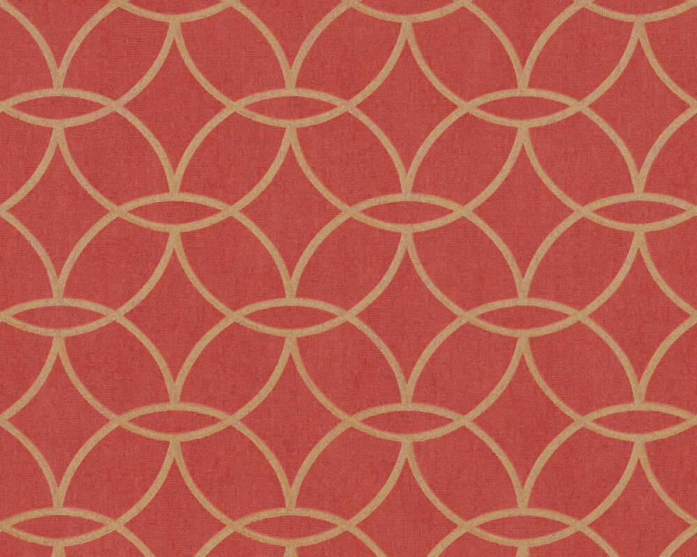 Architects Paper Tapete Metallics, Orange, Rot 375646