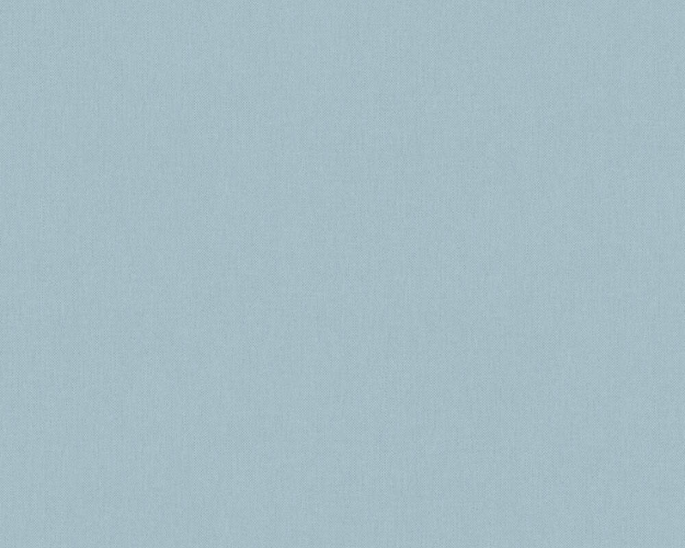 Architects Paper Tapete Uni, Blau, Grau 377027
