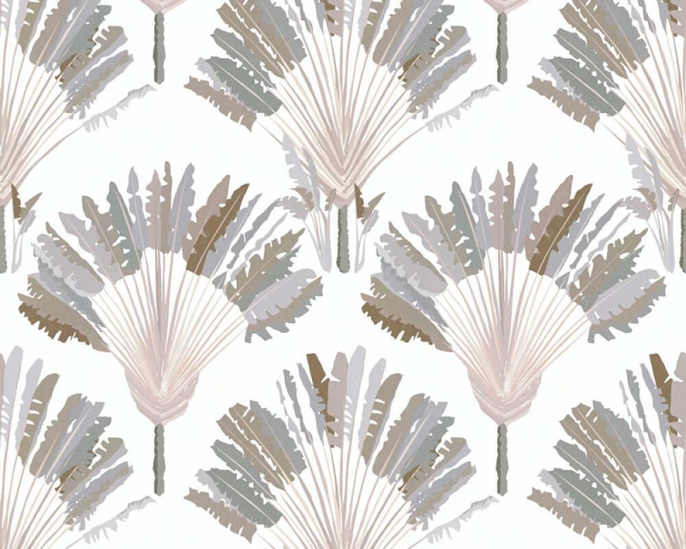 Architects Paper Tapete Floral, Beige, Creme, Weiß 377082