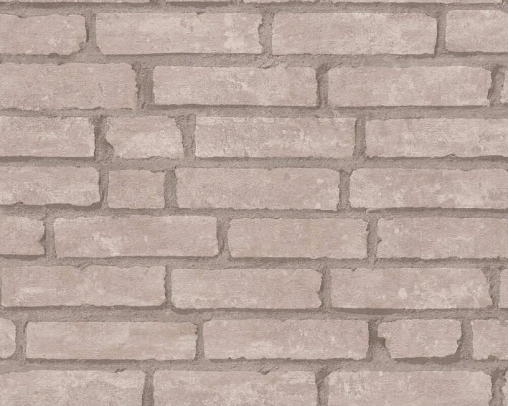 Livingwalls Tapete Landhaus, Beige, Braun 377473