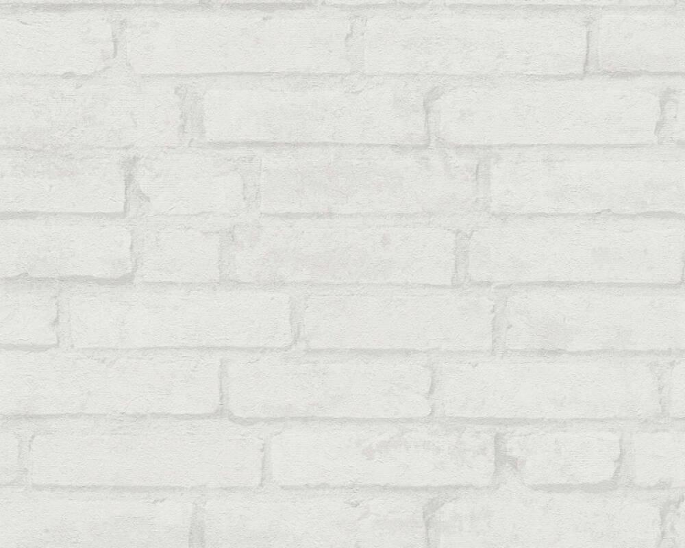 Livingwalls Tapete Landhaus, Creme, Grau, Weiß 377474