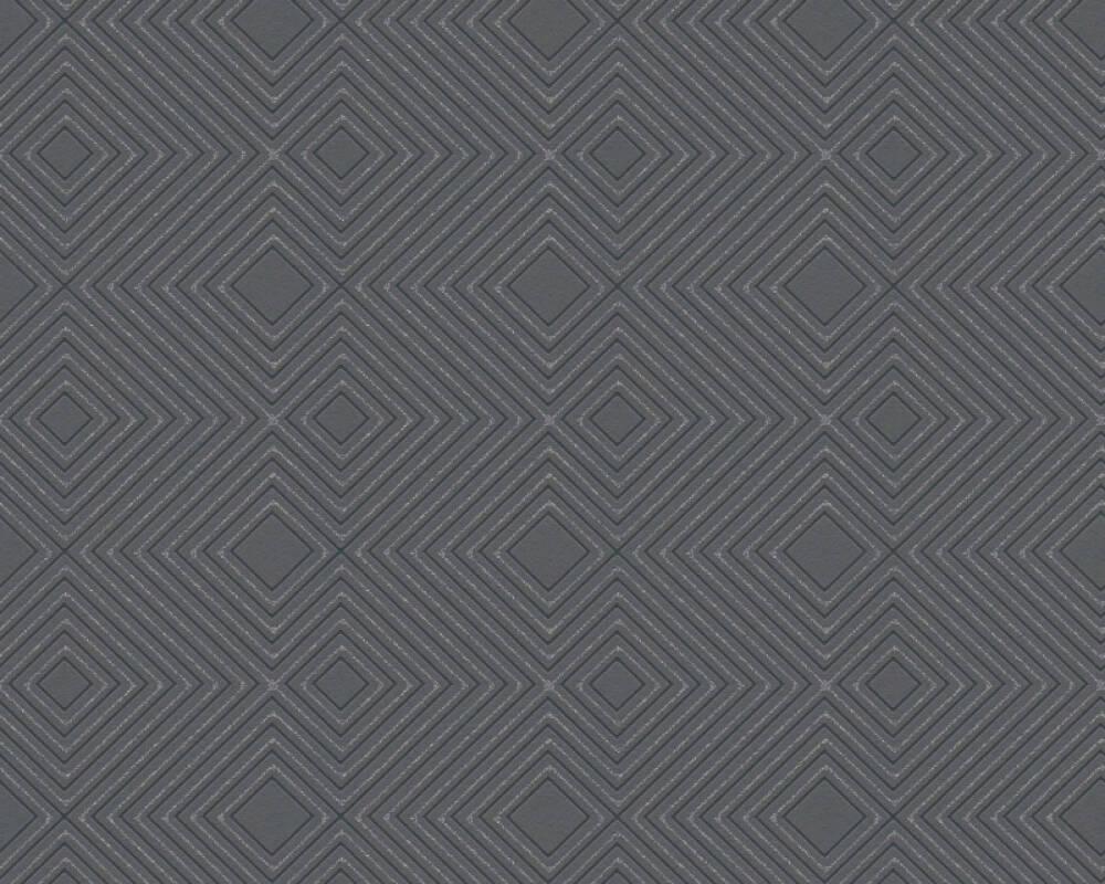 A.S. Création Wallpaper Graphics, Black, Metallic 377581