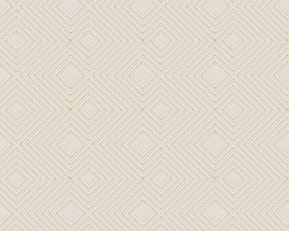 A.S. Création Wallpaper Graphics, Beige, Cream, Metallic 377582