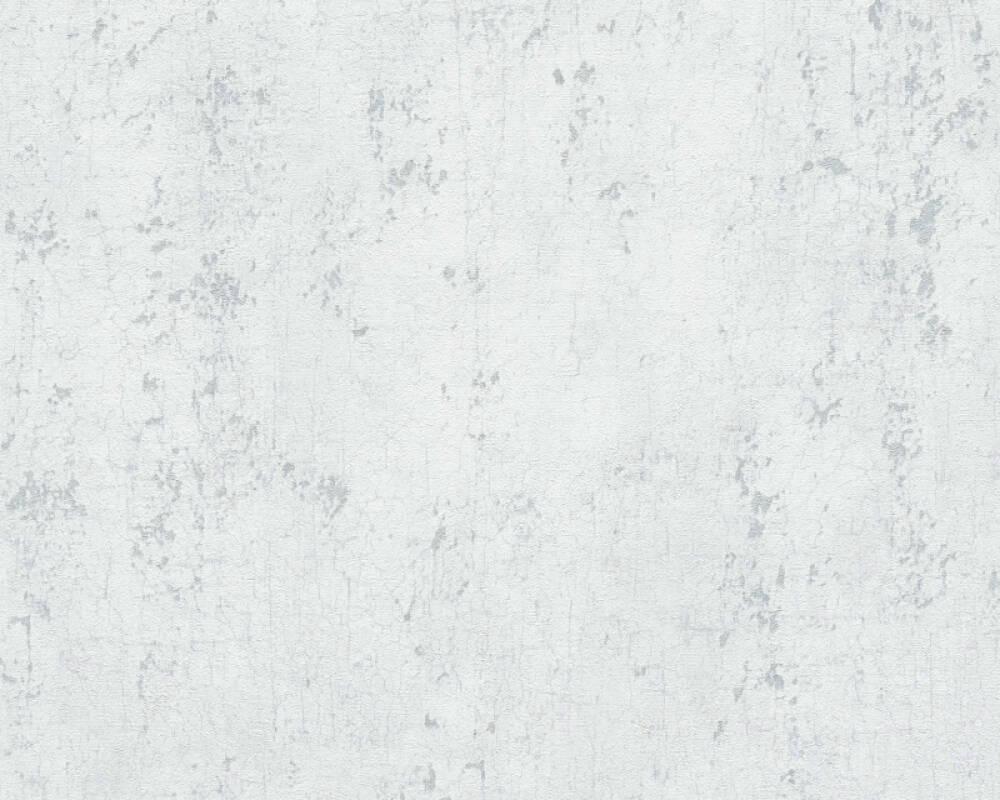 Livingwalls Обои Уни, Белые, Металлик, Серыe 378401