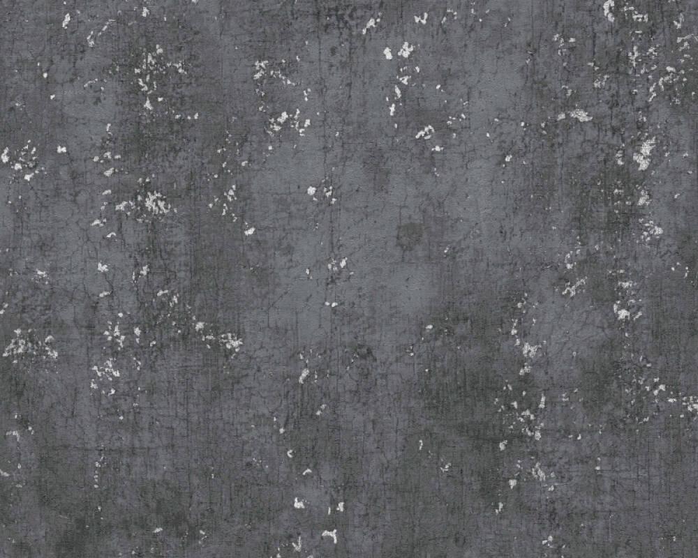 Livingwalls Обои Уни, Металлик, Серыe, Черные 378404