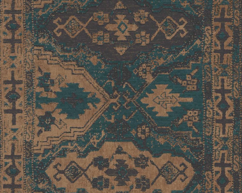 Livingwalls papier peint Maison, bleu, noir, vert 378682