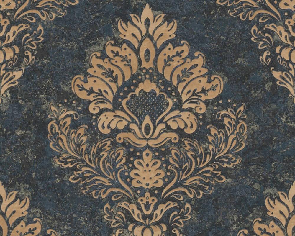 Livingwalls Wallpaper Baroque, Beige, Blue, Brown 379012