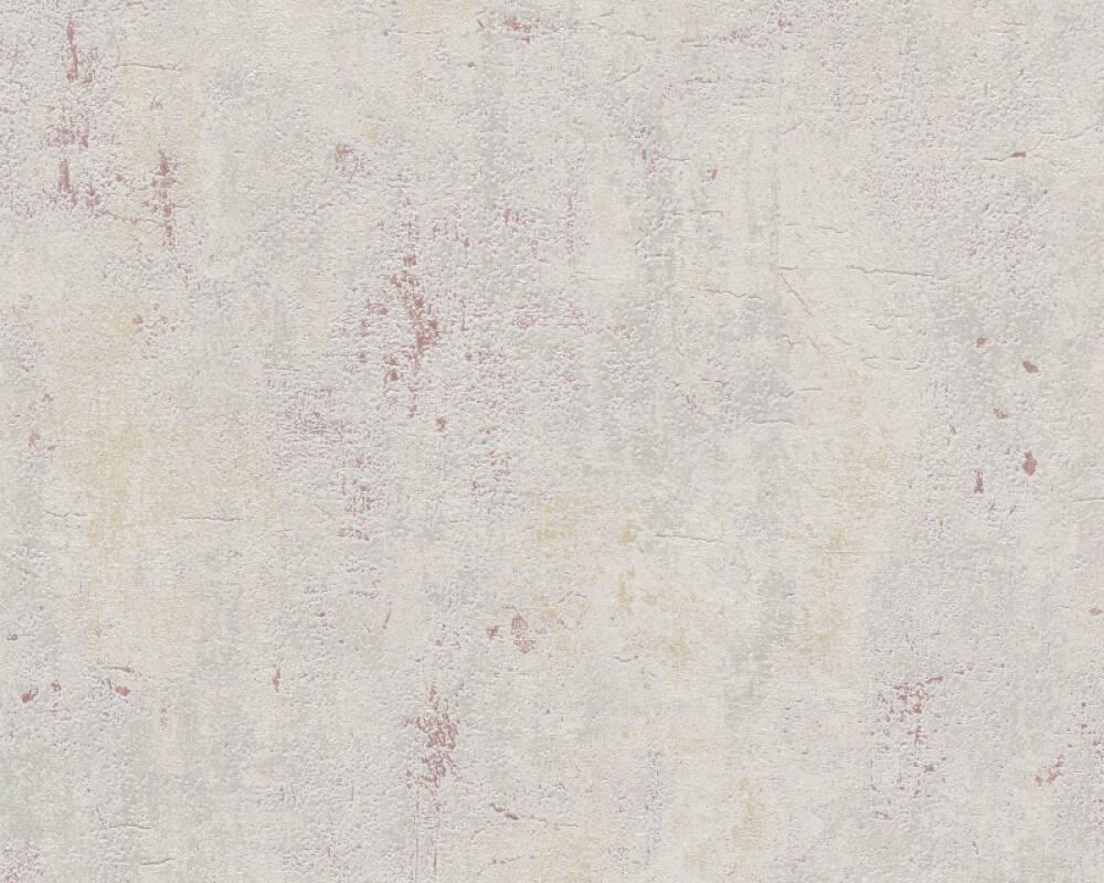 Livingwalls Wallpaper Uni, Beige, Grey, Red 379035