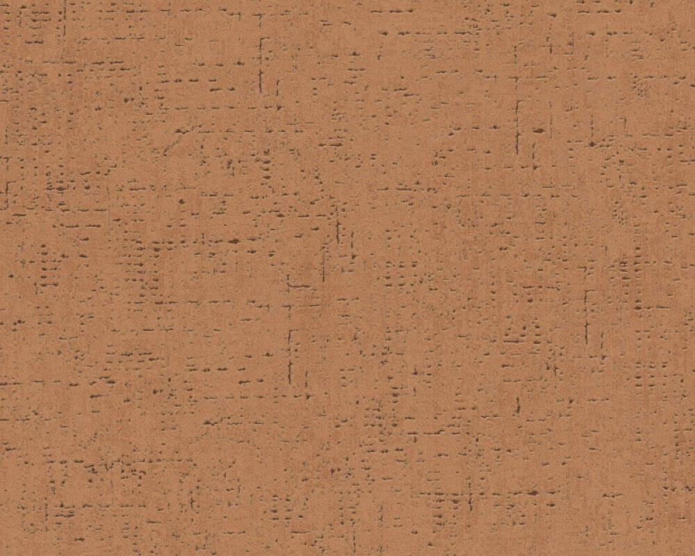 Livingwalls papier peint Uni, marron, orange 379045