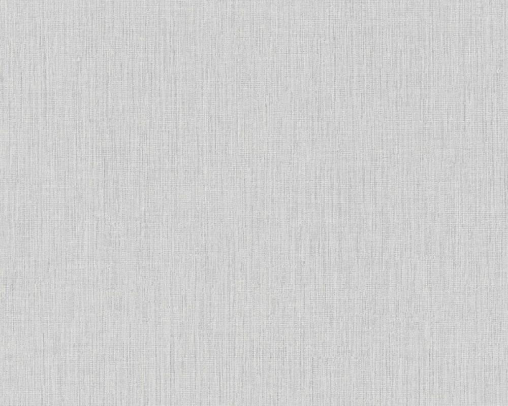 Daniel Hechter Tapete Uni, Grau, Weiß 379523