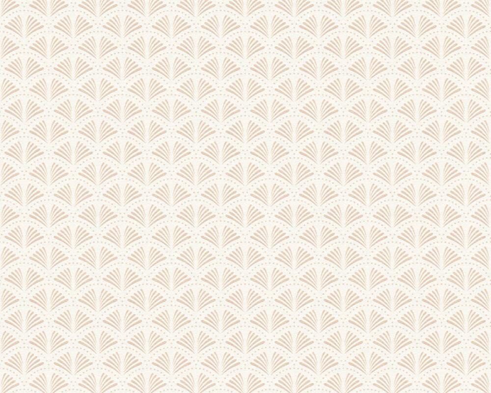 A.S. Création Tapete Grafik, Metallics, Weiß 379571