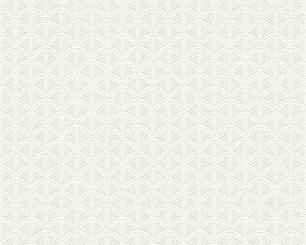 A.S. Création Tapete Grafik, Metallics, Weiß 379576
