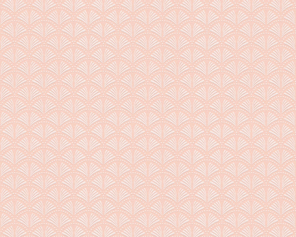 A.S. Création Tapete Grafik, Metallics, Rosa, Weiß 379577