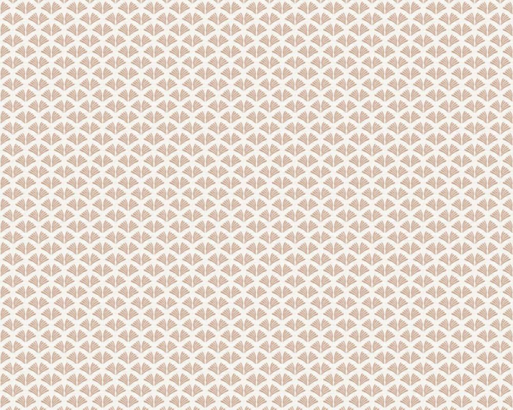 A.S. Création Tapete Grafik, Metallics, Weiß 379581