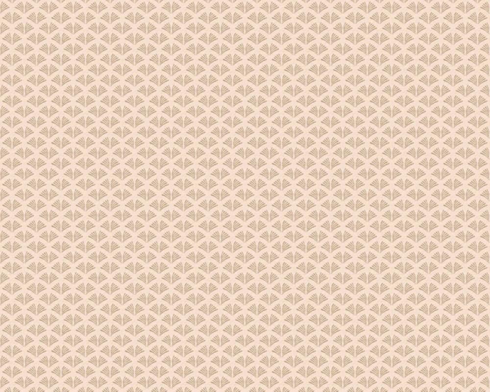 A.S. Création Tapete Grafik, Creme, Metallics, Rosa 379582
