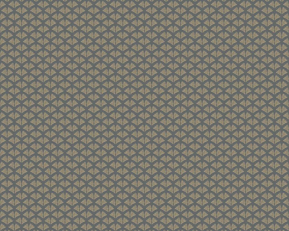 A.S. Création Tapete Grafik, Metallics, Schwarz 379583