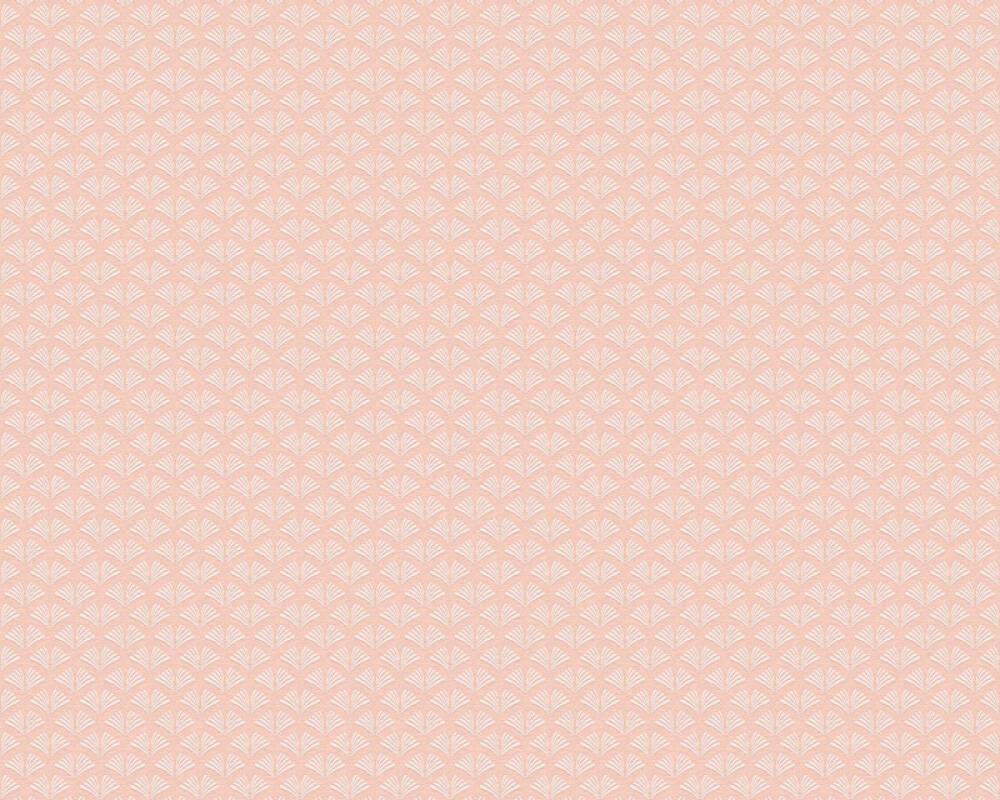 A.S. Création Tapete Grafik, Rosa, Weiß 379586