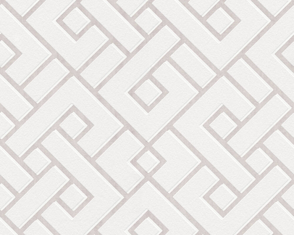 MICHALSKY LIVING Tapete Grafik, Creme, Weiß 379841