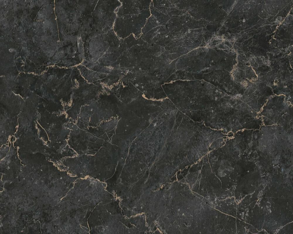 MICHALSKY LIVING Tapete Marmor, Beige, Schwarz 379911