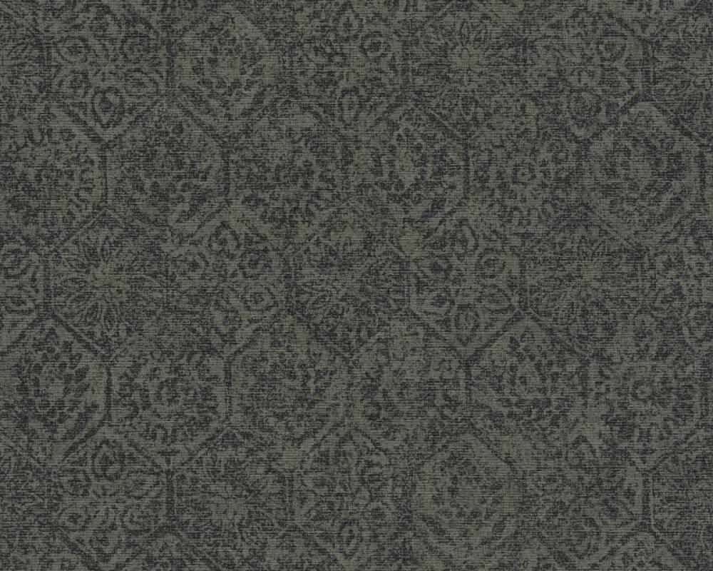 A.S. Création Tapete Barock, Grau, Schwarz 380223