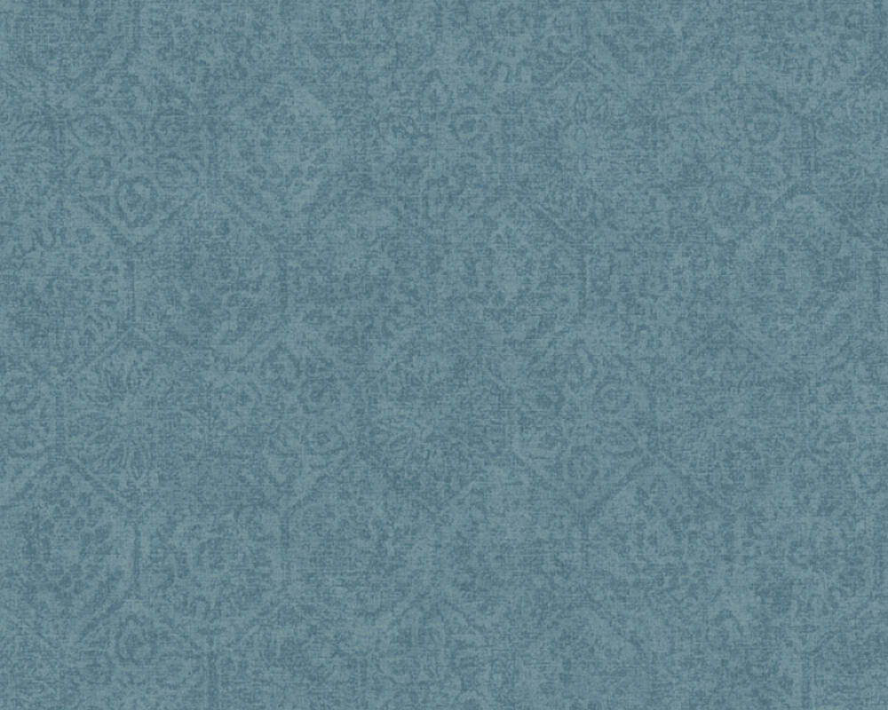 A.S. Création Tapete Barock, Blau 380225