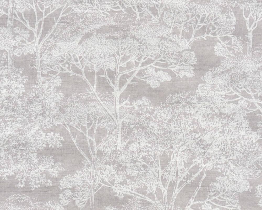 A.S. Création Tapete Grafik, Creme, Grau, Metallics 380231