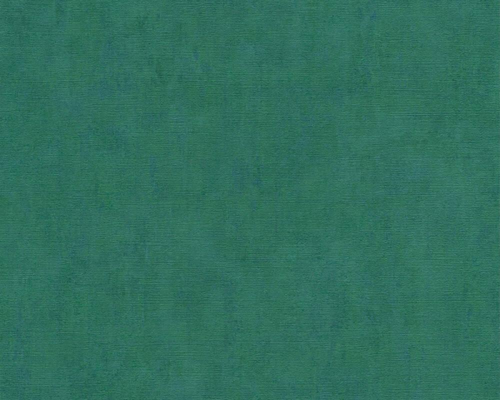 A.S. Création Tapete Uni, Blau, Grün 380249