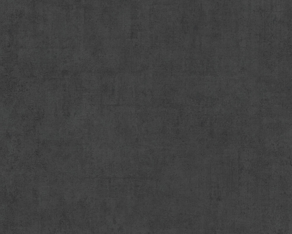A.S. Création Tapete Uni, Schwarz 380251