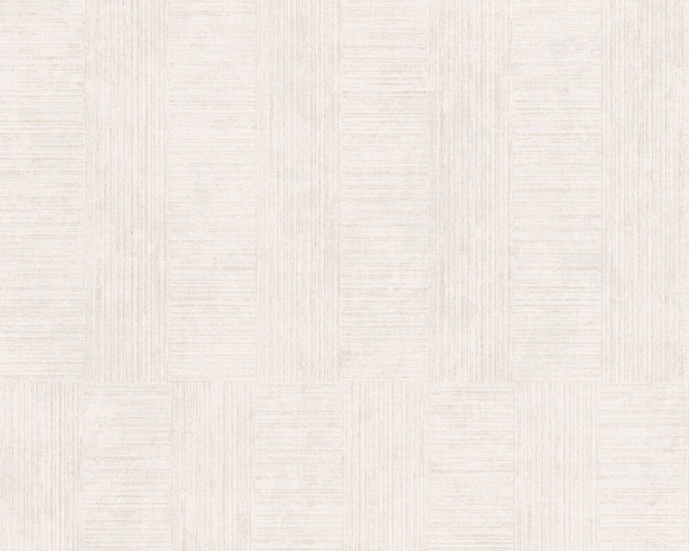 A.S. Création Wallpaper Stripes, Cream, Metallic 380261