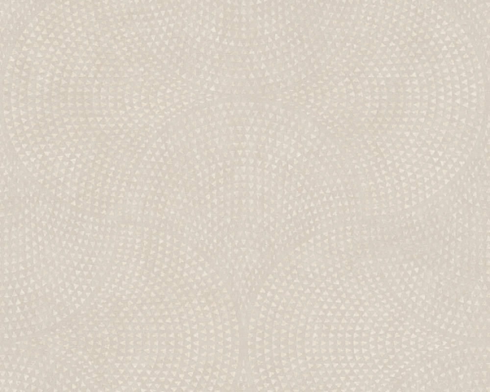 A.S. Création Tapete Grafik, Beige, Creme, Metallics 380272