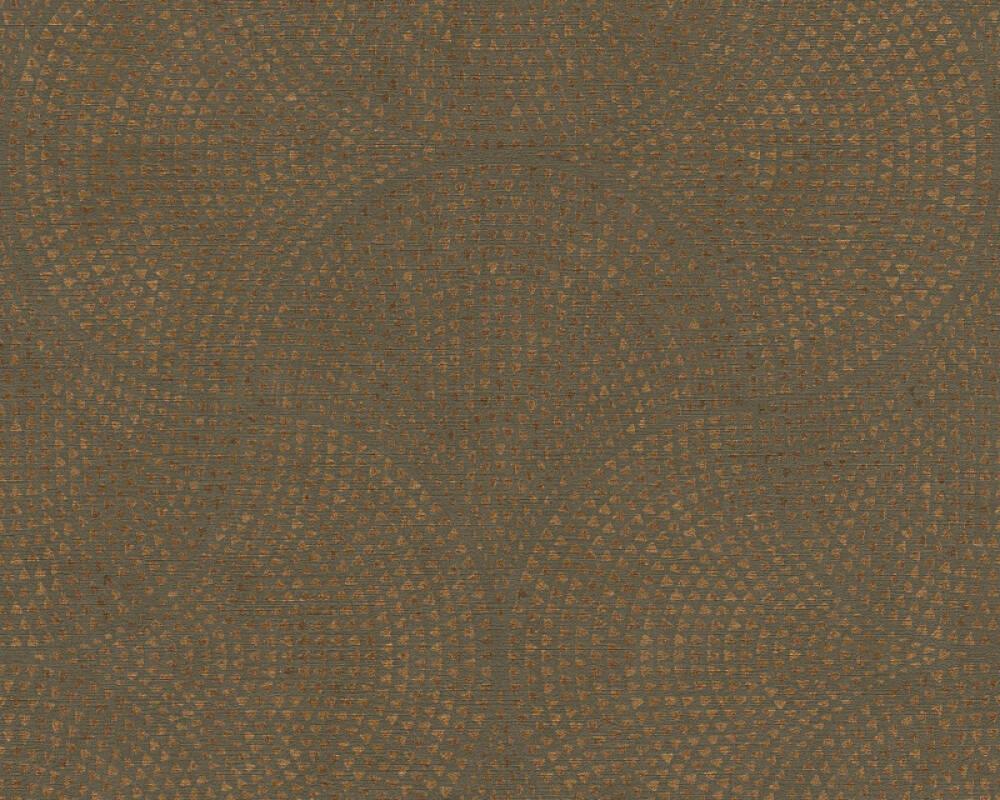 A.S. Création Tapete Grafik, Braun, Metallics 380273