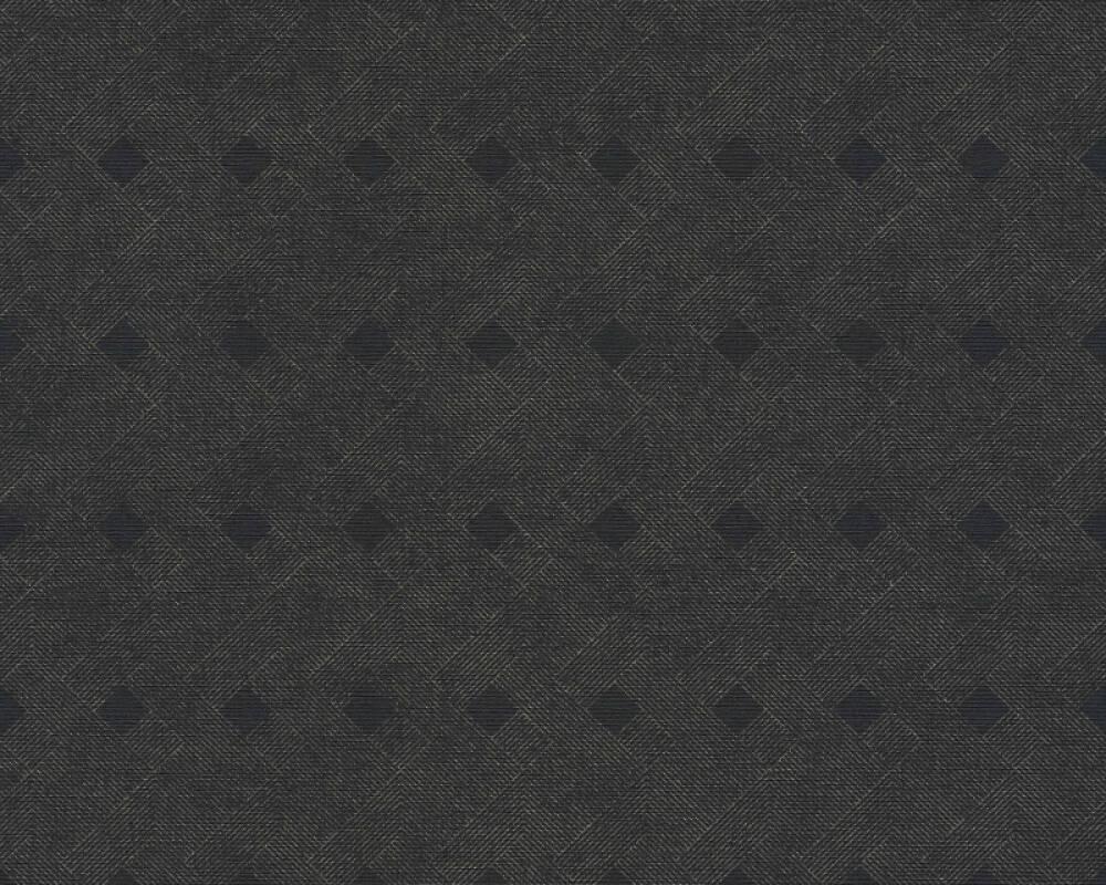 A.S. Création Обои Графика, Металлик, Черные 380291