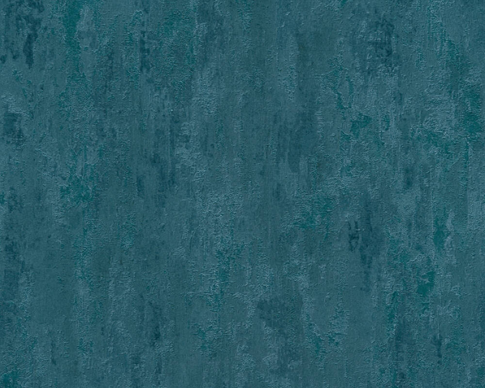 A.S. Création Tapete Uni, Blau, Metallics 380445