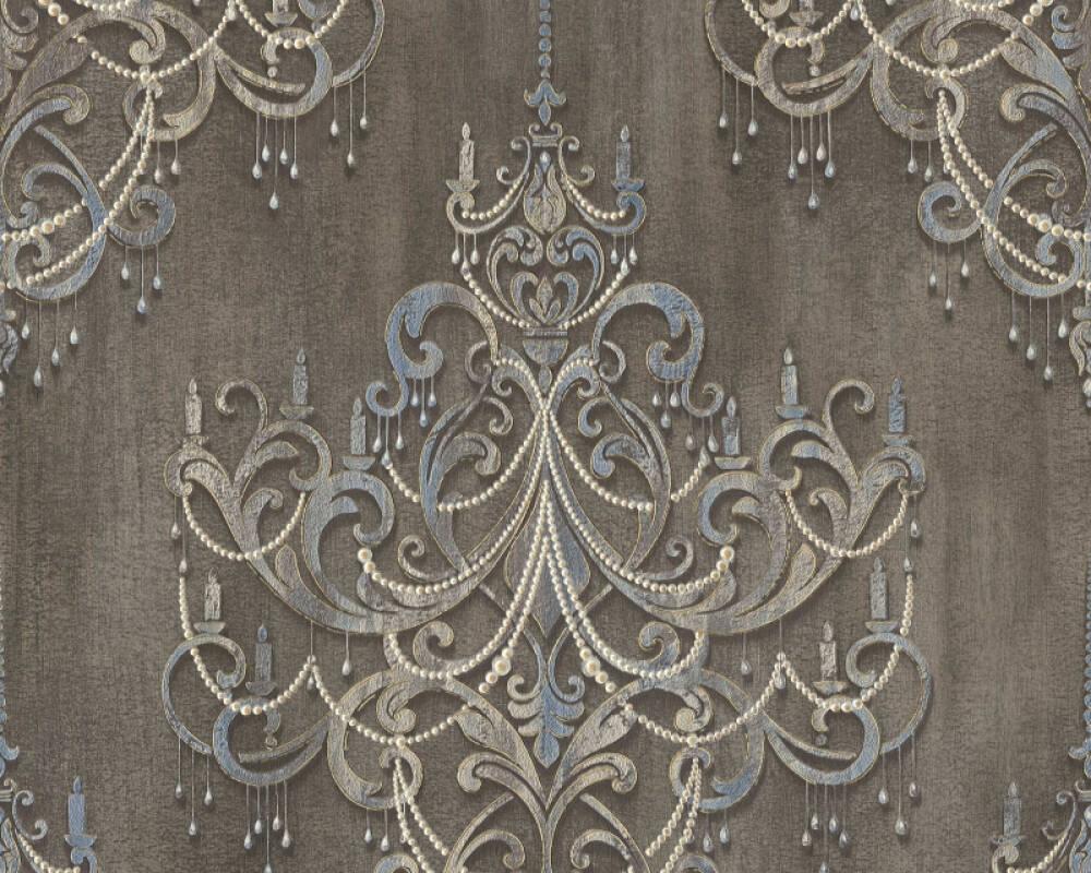 Livingwalls papier peint Baroque, beige, gris, marron 380961