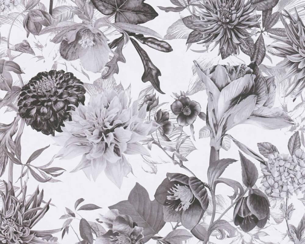A.S. Création Обои Флора, Белые, Серыe 381753