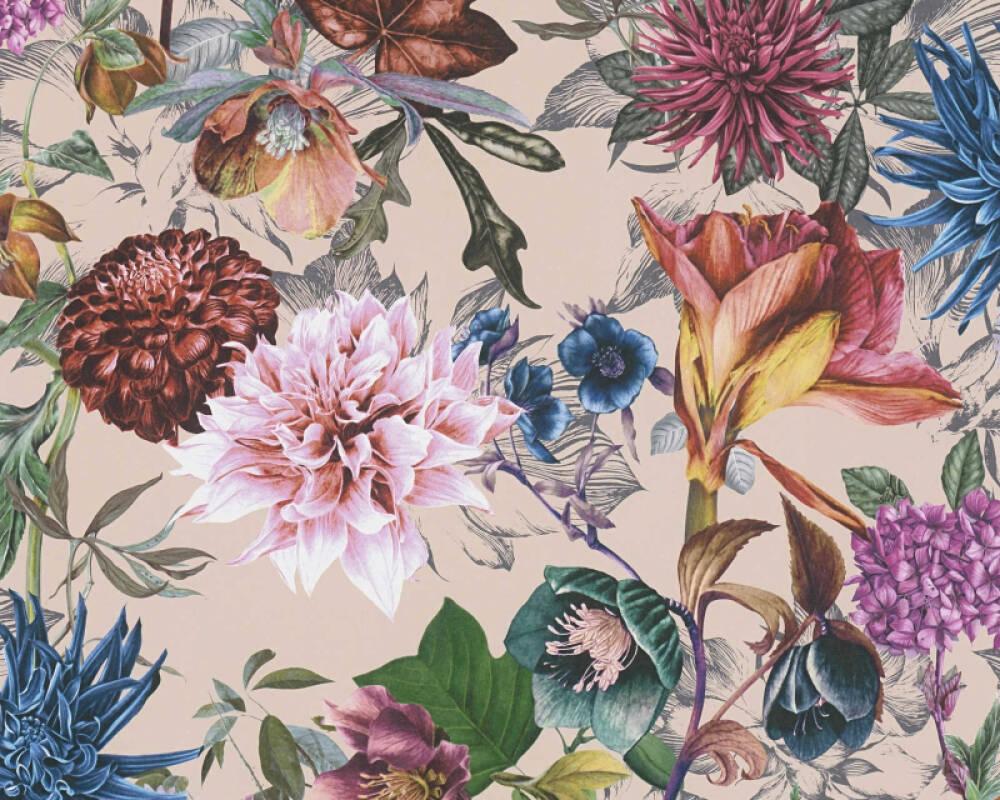A.S. Création Обои Флора, Разноцветные 381755