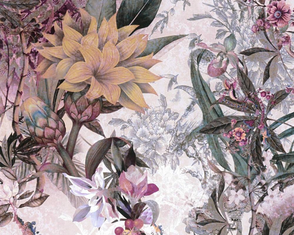 A.S. Création Tapete Floral, Bunt 381775