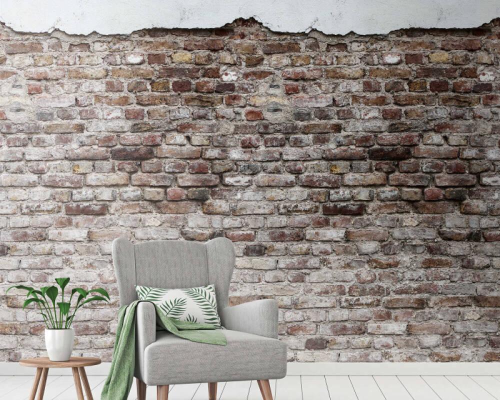 Livingwalls Обои Под камень, Разноцветные 383331