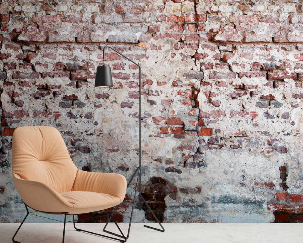 Livingwalls Обои Под камень, Разноцветные 383351