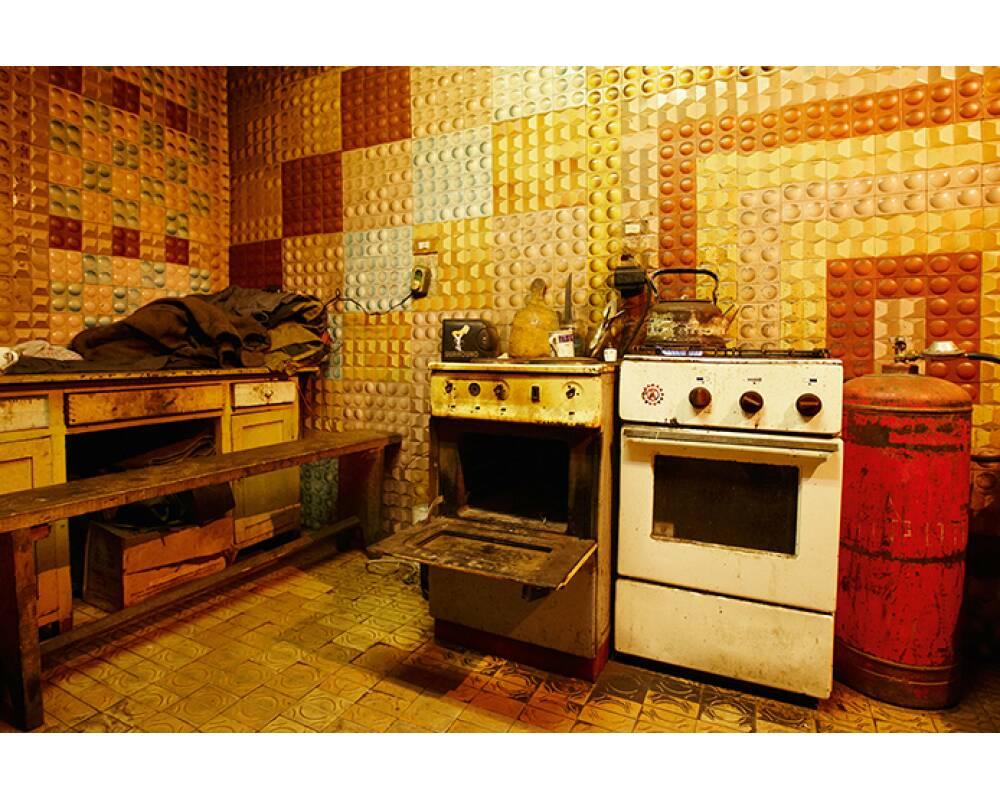 architects paper fototapete marode k che 470056. Black Bedroom Furniture Sets. Home Design Ideas