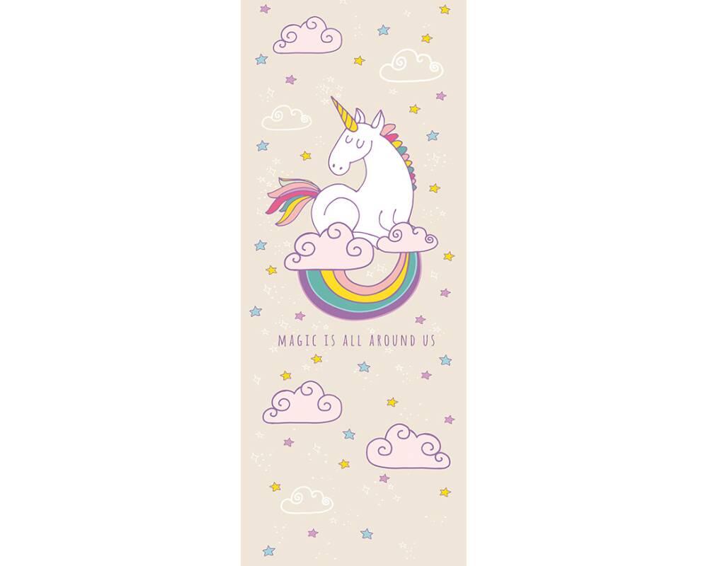 Livingwalls Fotopaneel Rainbow Unicorn 470935