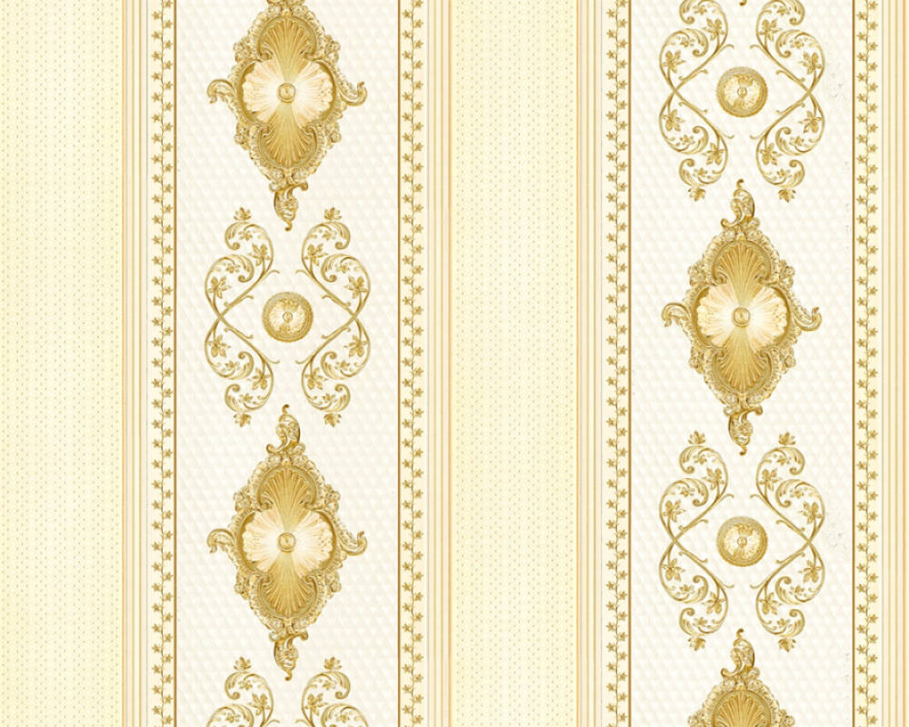 A.S. Création Wallpaper Beige, Metallic 683069
