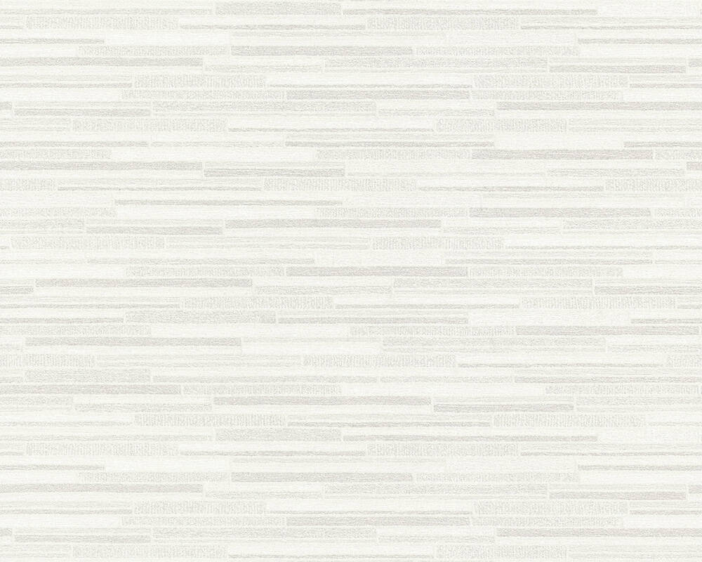 A.S. Création Wallpaper Stone, Grey, White 709721