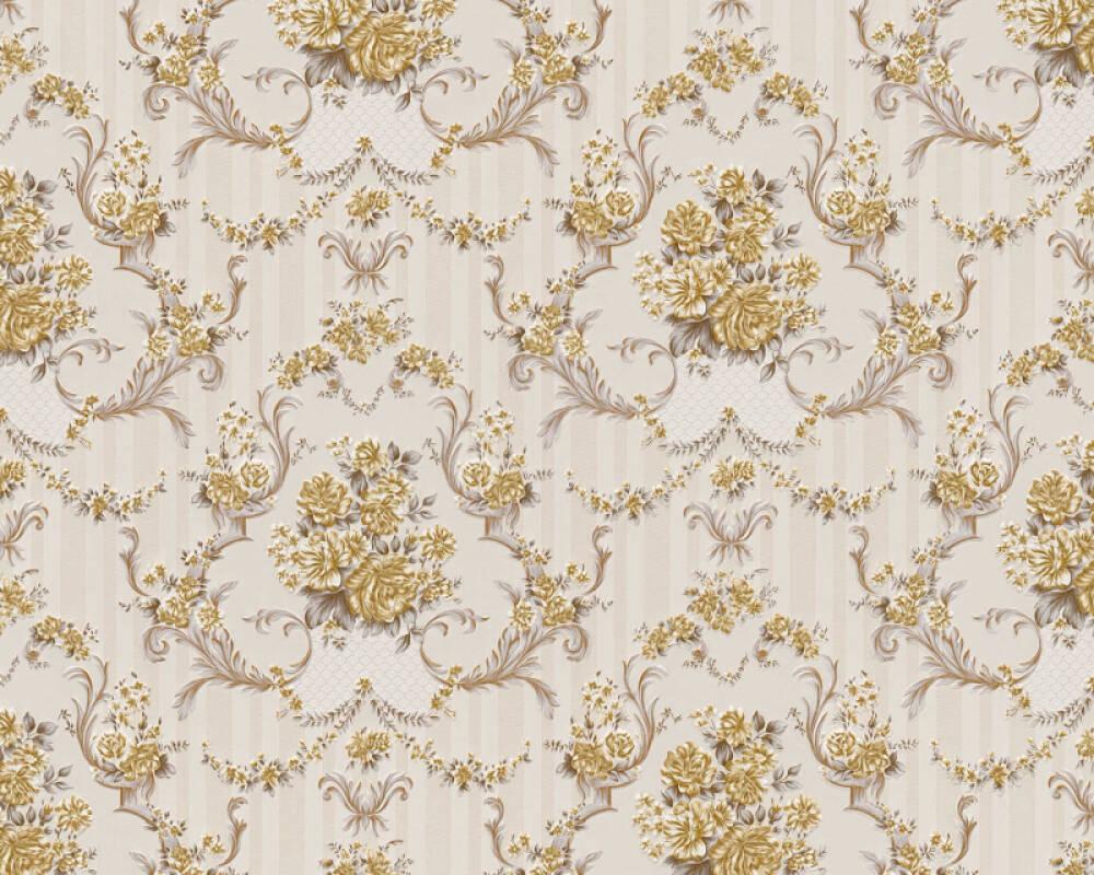 A.S. Création Tapete Barock, Beige, Braun, Gold, Metallics 765710