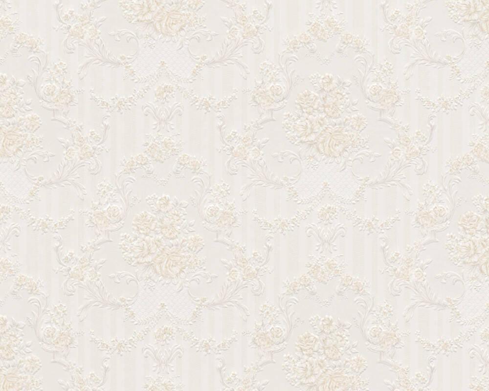A.S. Création Tapete Barock, Beige, Grau, Weiß 765772