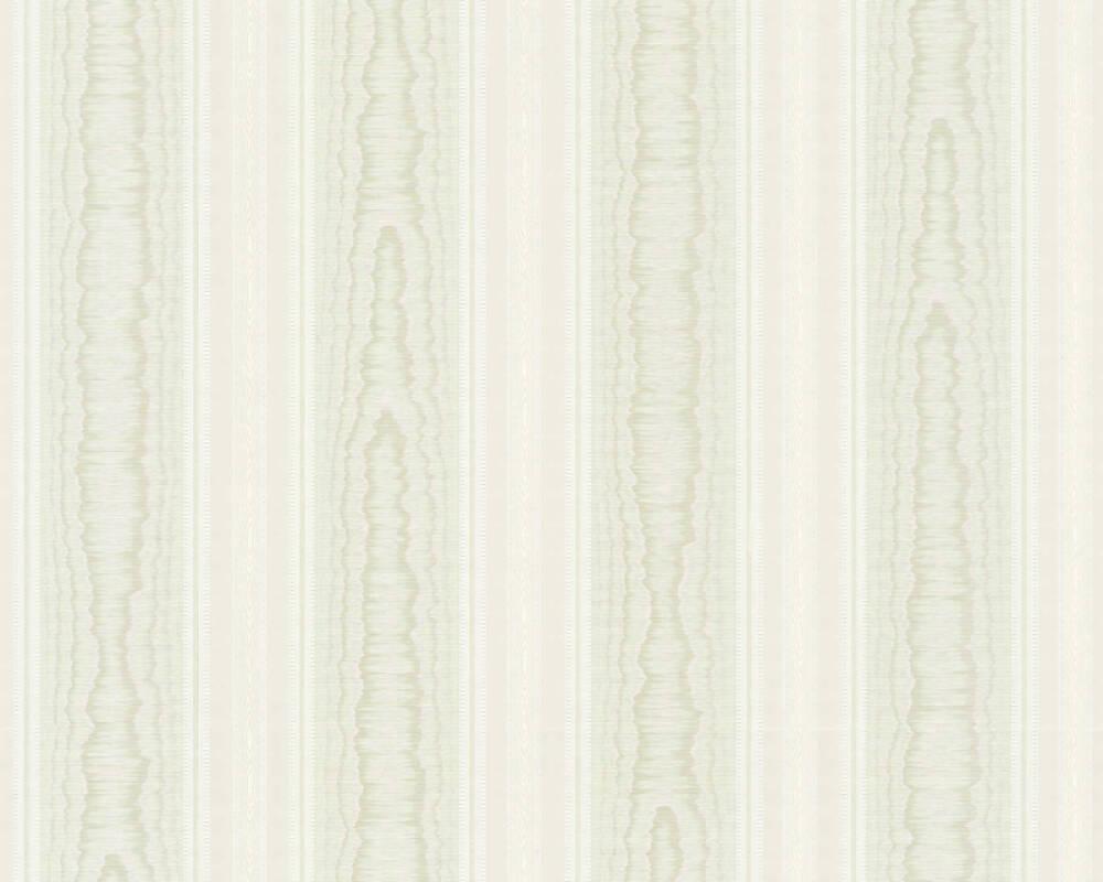 A.S. Création Tapete Streifen, Grün, Weiß 765871
