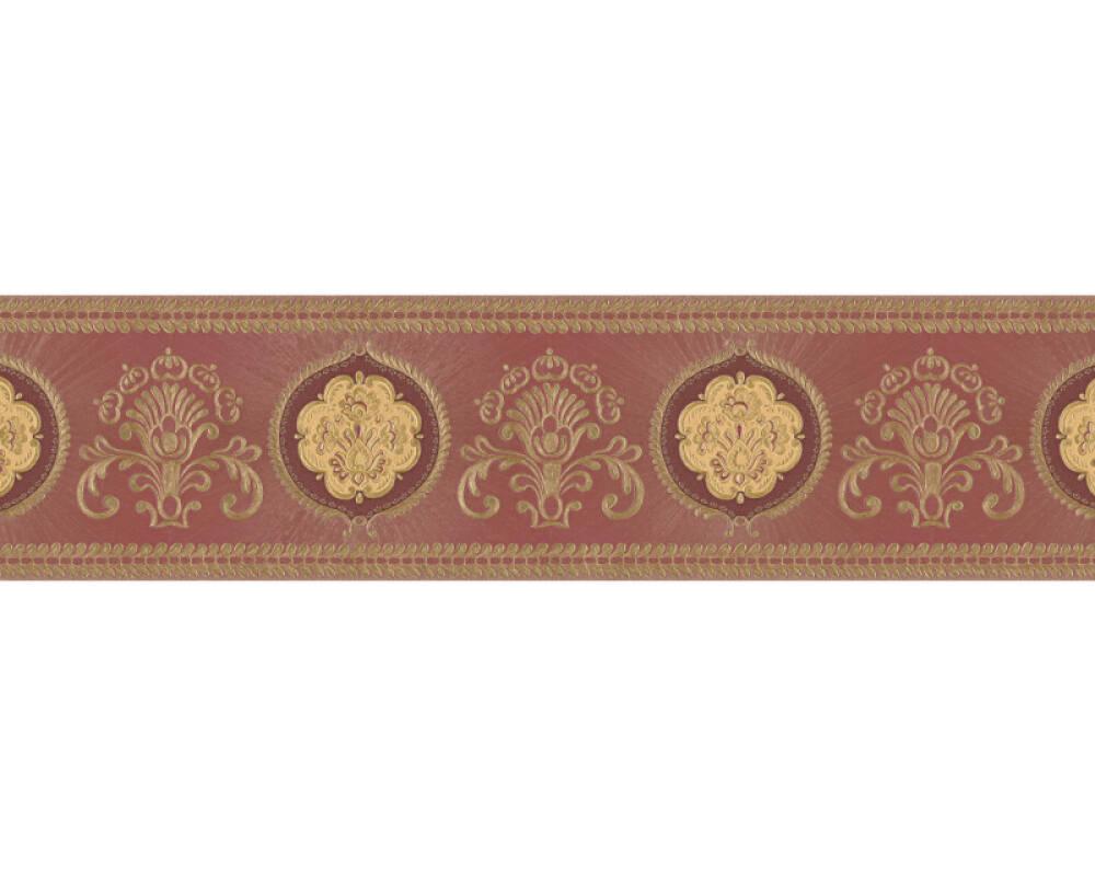 Klassik Tapeten Bordüre - Only Borders 9 - 76661-8 766618 - Metallics, Rot