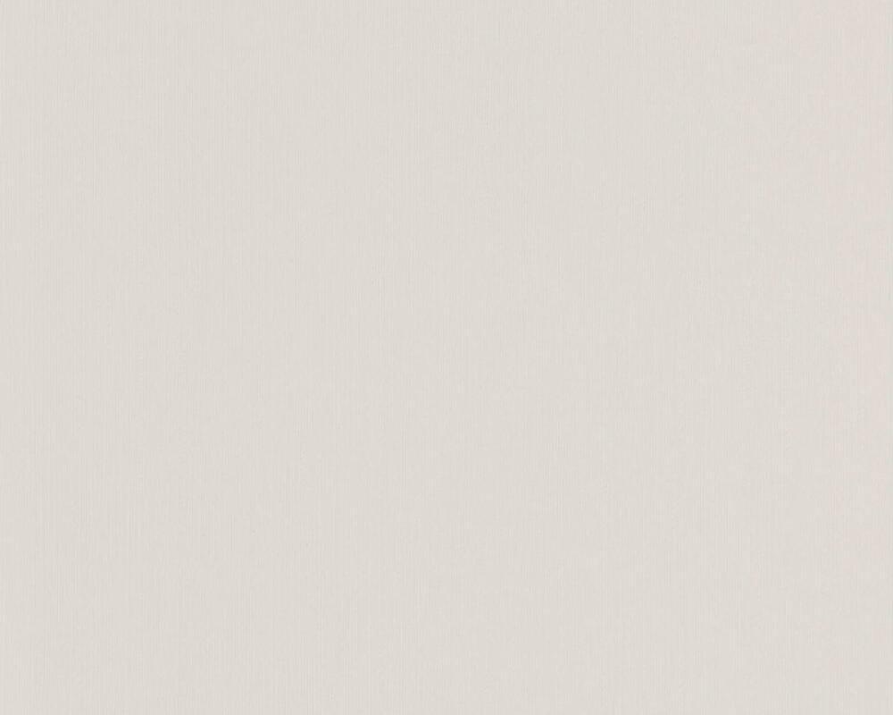 A.S. Création Wallpaper Uni, Grey, White 898128
